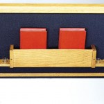 #1207 Song Bookrack with Cup Holders