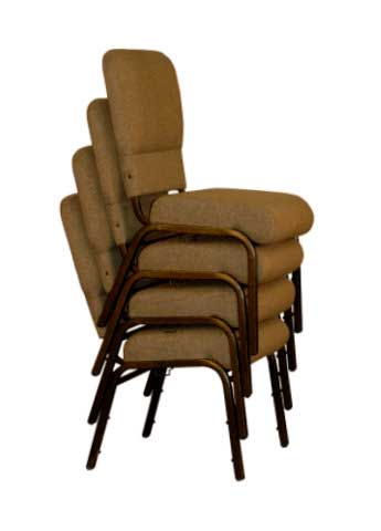 Stackable Church Chairs - Church Interiors, Inc.