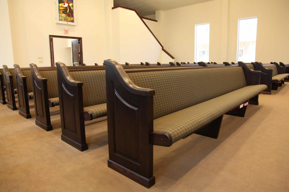 Church Pews Solid Oak Maple Pews Pew Body Styles