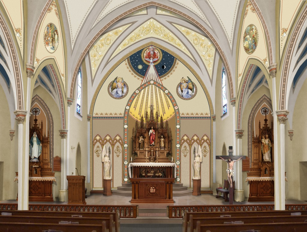 Catholic Church Renovations Remodeling Restoration