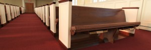Pew Cushions from Church Interiors