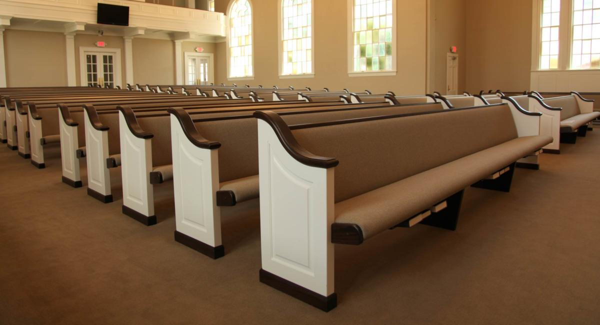 Church Renovations & Remodeling Sanctuary & Pew Restoration