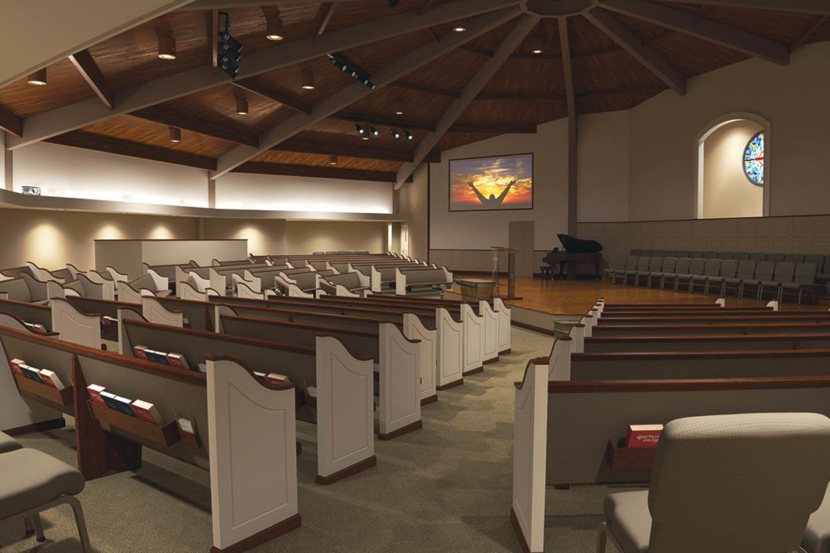 Church renovations remodeling pew restoration church for Church interior designs pictures