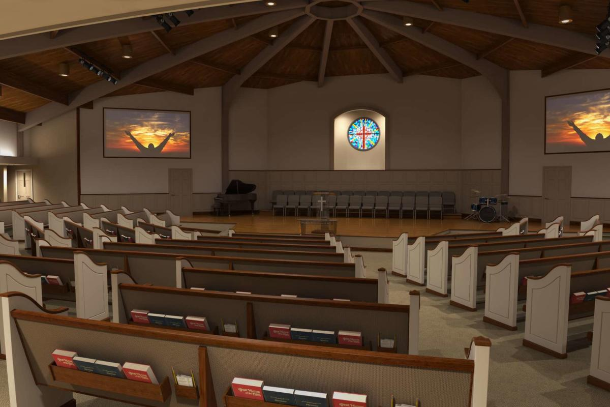 Contemporary modern renovations church sanctuary for Grand designs 3d renovation interior