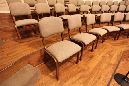 Church Choir Chairs Oak Lock Ply Harp Ply Bent