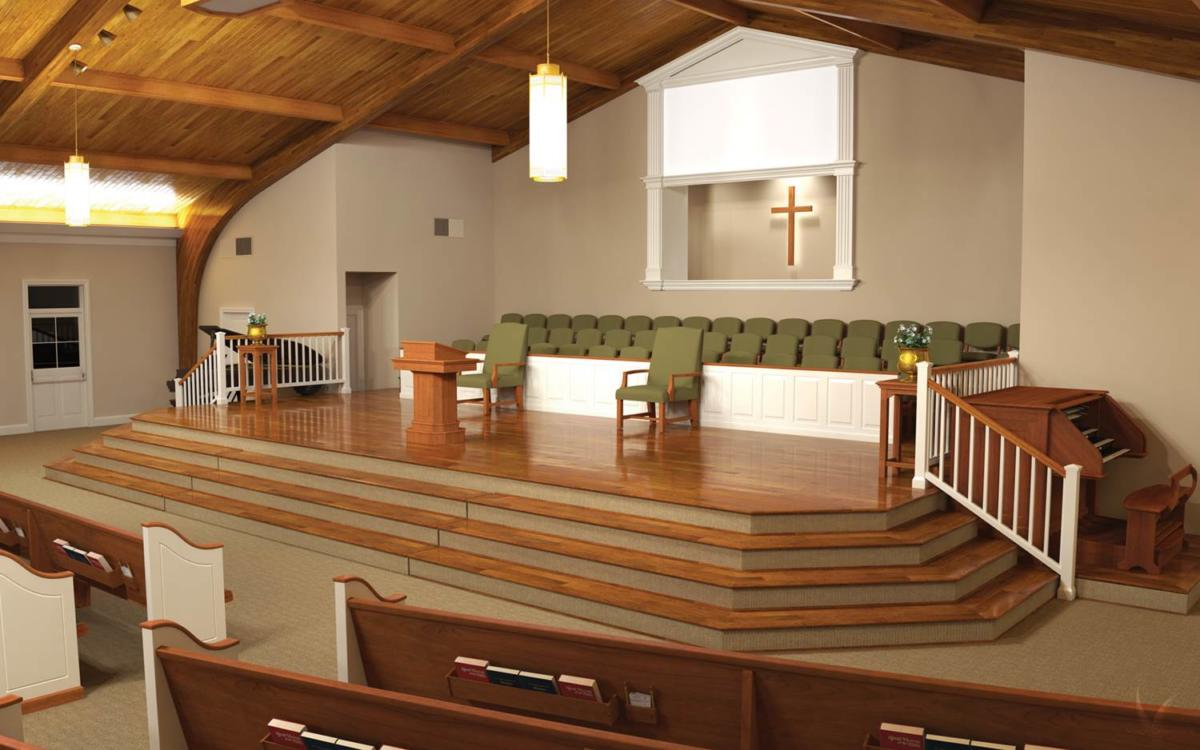 Church Chairs also Modern Church Interior additionally Church Sanctuary Design Construction also Catholic Church Renovations further Iconyx Helps Renew Reno Church. on church sanctuary interior design on modern