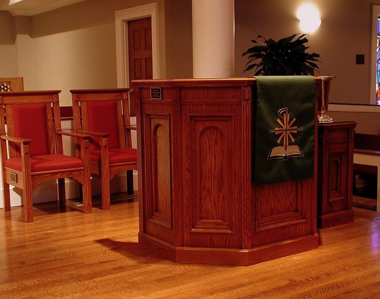 Church interiors chancel furnishings traditional series church clergy chairs