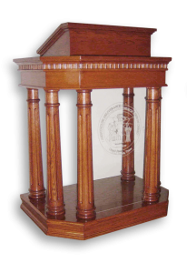 Church Interiors Column Pulpit 191