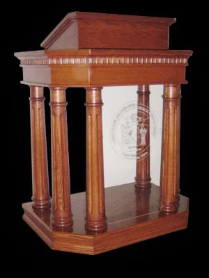 Church Interiors Column Pulpit 191