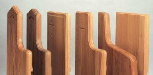 Pew End Edge Molding Options