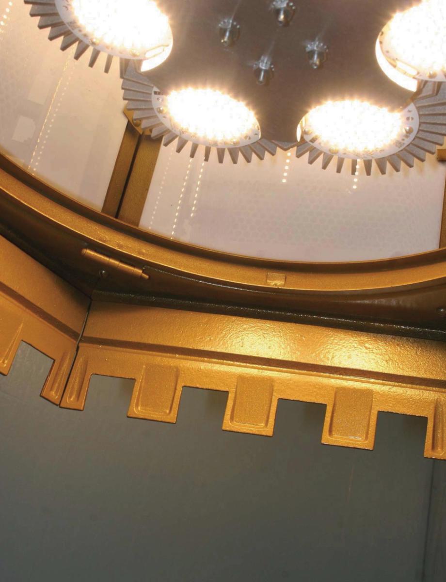 Led retro fit church lighting church interiors inc arubaitofo Image collections