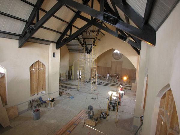 Painting & Plaster Repair Underway