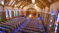 After Retro-fit Lighting & Church Lighting for Sanctuary Renovations Remodeling u0026 Restoration