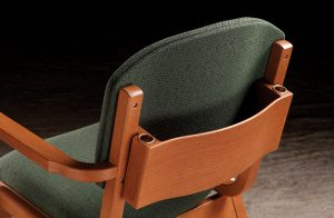 Ply Bent Choir Chair Back