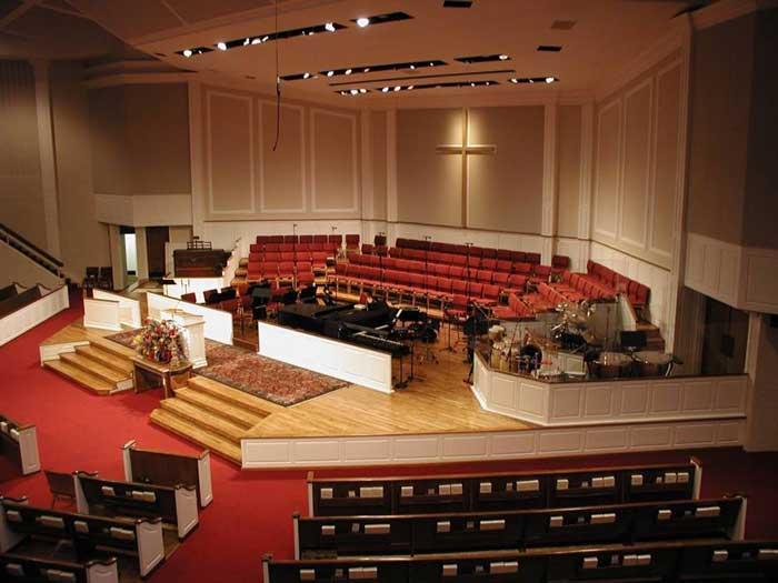 After Renovation Church Interiors Inc