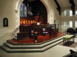 Church Floor Refinishing