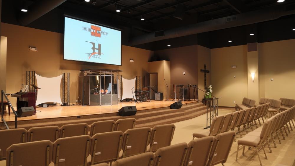 Contemporary Renovations Church Interiors Inc