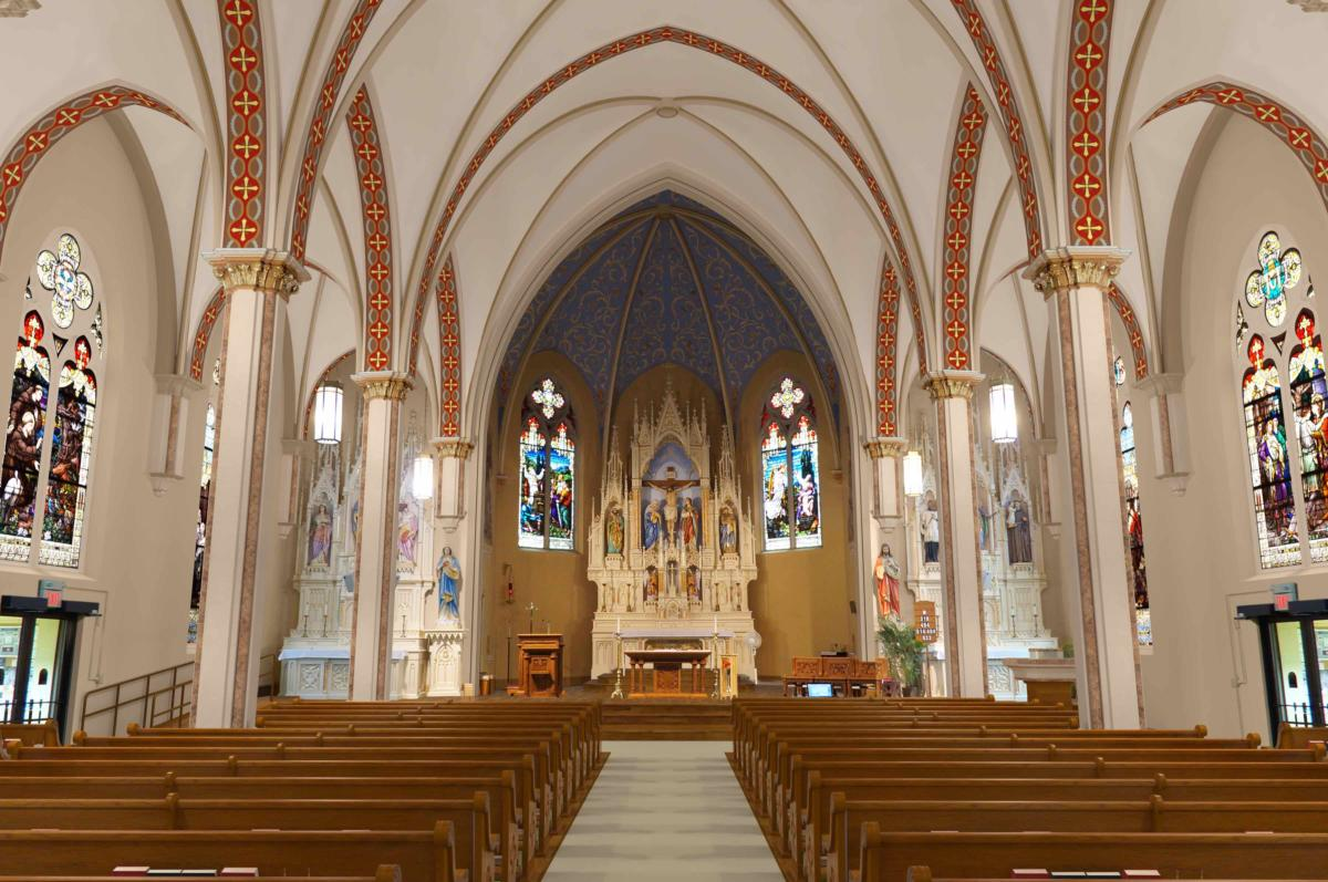 catholic church renovations remodeling restoration church interiors