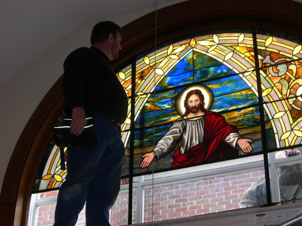 Church Interiors Stained Glass Restoration 4