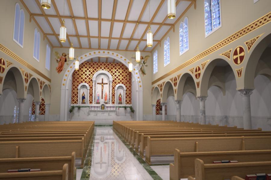 Catholic Church Renovations Remodeling Restoration Church Interiors