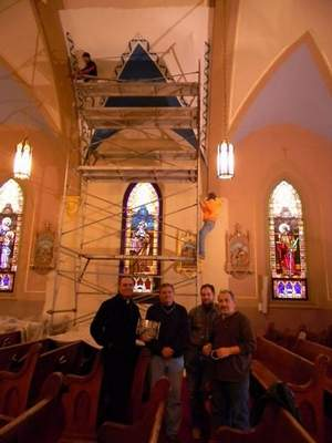 Catholic Church In Colby Undergoes Interior Restoration