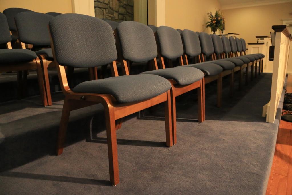 Nice Choir Chairs