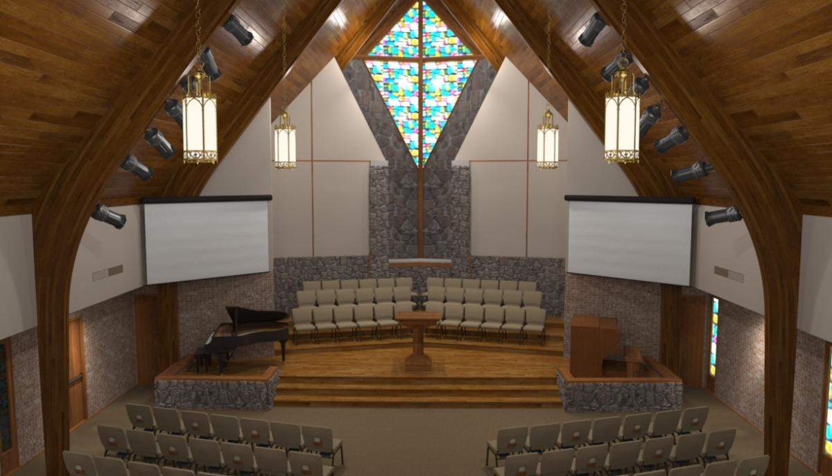 Contemporary Modern Renovations Church Sanctuary Church Interiors