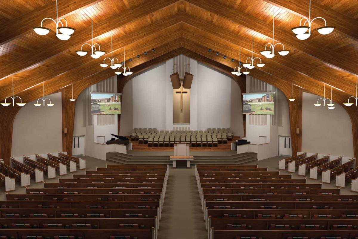 Contemporary Modern Renovations Church Sanctuary