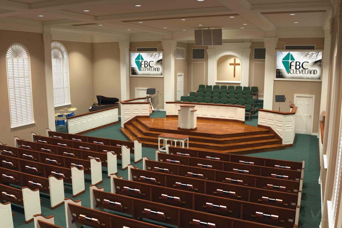 Traditional Church Amp Sanctuary Renovations Church Interiors