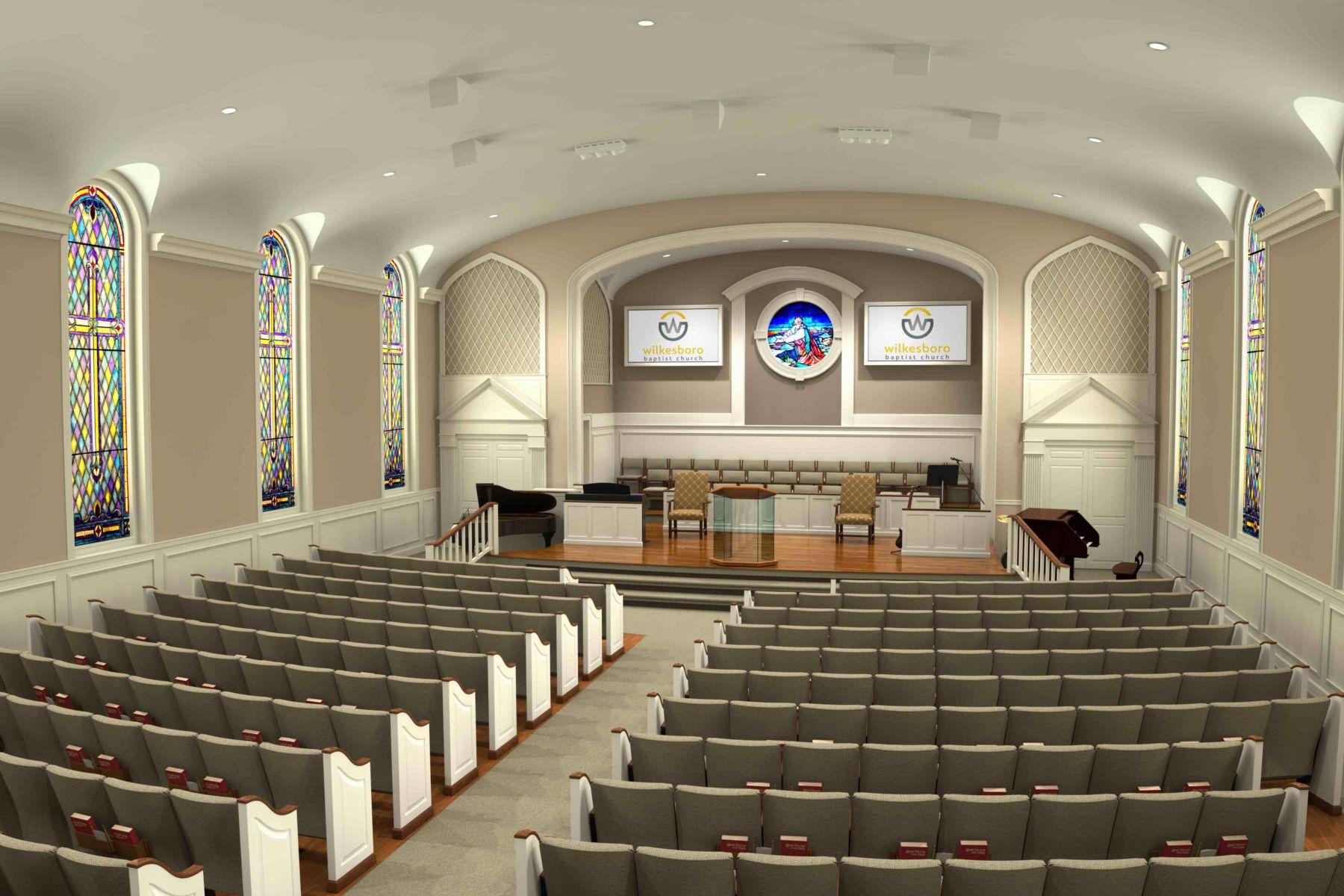 Wilkesboro-Baptist-Church-Renovation