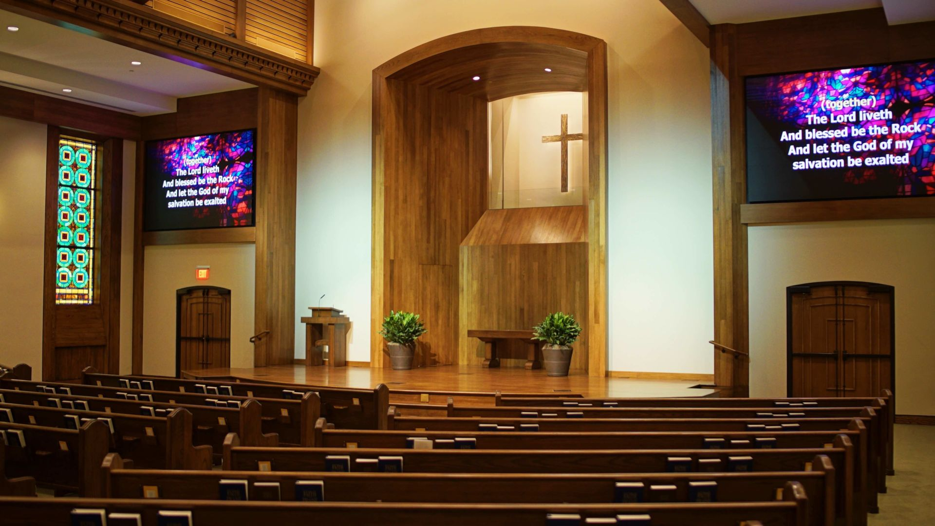 Preston-Road-Church-Of-Christ-Renovation-Church-Video-Screens