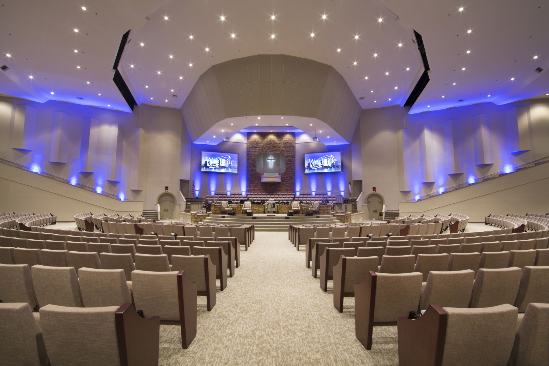 Westside Baptist Church - Church Interiors, Inc.